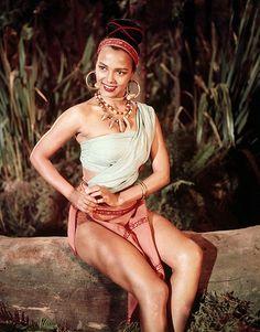 Dorothy Dandridge | Black Hollywood Series by Black History Album, via Flickr @yummlove_