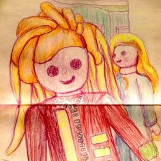 Hairdressers. Sketch on direct, practice with my left hand! Los peluqueros. Dibujo del natural, practicando con mi mano izquierda. #art #artist #artwork #artofinstagram #pencils #draw #drawing #hairdresser #toys #playmobil #contemporaryart #the_art_competition #instaart #instagood #instadaily #illustreeters #figurativelyspeakingartwork #forlikes #followme #figurative #tagsforlike #bestoftheday #canaryisland #tenerife #chacoal