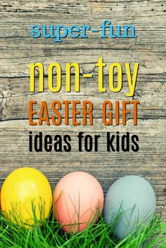 20 non toy easter gift ideas for toddlers basket ideas easter 20 non toy easter gift ideas for kids negle Gallery