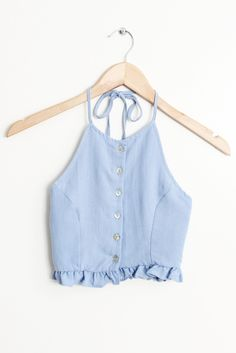 Discover recipes, home ideas, style inspiration and other ideas to try. Girly Outfits, Summer Outfits, Casual Outfits, Cute Outfits, Cute Fashion, Fashion Outfits, Womens Fashion, Top Jeans, Bleu Pastel