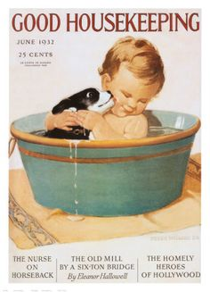 Good Housekeeping, June 1932. Art print from Art.com. Check out our entire collection of Women's Day, Country Living Magazine and more! http://stores.ebay.com/outstandingbooks/