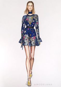 Fashion Illustration Sketches Style Elie Saab Ideas For 2019 Fashion Design Sketchbook, Fashion Design Drawings, Fashion Sketches, Fashion Drawing Dresses, Fashion Illustration Dresses, Fashion Dresses, Fashion Art, Fashion Models, Paper Fashion