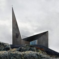 Community Church Knarvik by Reiulf Ramstad Arkitekter as Architects