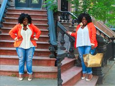 Natural,plus size fashion for women, Colorful, Plus size fashion, Fashion Blogger,  Plus Size OOTD, Ps Blogger, NYC