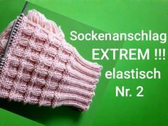 super elastic stitch stop for socks, No. 2 - super elastic stitch stop for socks, No. Knitting Websites, Knitting Blogs, Free Knitting, Knitting Patterns, Knitted Slippers, Knitted Hats, Crochet Hats, Debbie Macomber, Crochet Diy