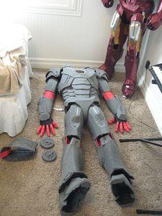 Cardboard/Foam Iron Man Suits