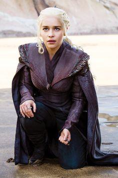 """Daenerys Targaryen in Game of Thrones Season 7. """"I should've been the queen."""""""