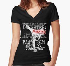 Funny Daughter Shirt Date Dating Mom Dad Martial Arts Teen Karate Taekwondo by CozyTeesBuffalo