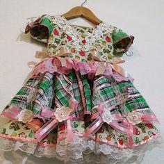 Vestido Junino Exclusivo 2 Anos R$ 225,00