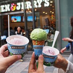 First Ben and Jerrys Ice Cream in Tokyo