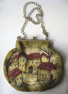 "art bag ""houses"" by Galina Goncharova:"