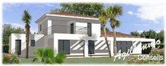 Vente Villa moderne à construire avec terrasse et garage par notre partenaire constructeur - 83 (83 - Var) - Avec une terrasse et un solarium de 81,20m2 et un garage de 46,21m2 !    à vendre : 0 € - Immobilier de luxe 83 - Réf.: ltpivoire-constructeur