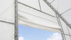 Economical and durable storage tents ✓ Cost reduction by self assembly ✓ Industry quality for sustainable use ✓ Free construction drawings and structural calculations Pvc Fabric, Construction Drawings, Scaffolding, Galvanized Steel, Rolling Scaffold, Tents, Home, Building Plans, Staging