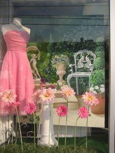 spring window display ideas | window display | Display Ideas