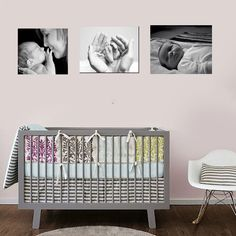 Canvas Prints For Baby Room baby's first year canvas prints  in black and white. order yours