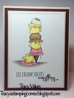 Tracy's Stamping Corner: Chicks Rule - Stamping Bella image