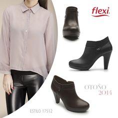 Estilo Flexi 17512 Dama - #shoes #zapatos #fashion #moda #goflexi #flexi #clothes #style #estilo #otono #invierno #autumn #winter