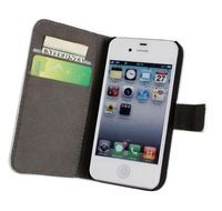 classical luxury business top Wallet Handbag Leather Case For Apple Iphone4 4S Mobile Phone Case Phone Cover