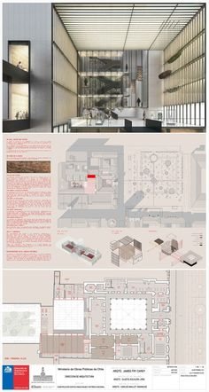 Galeria - Primeiro Lugar no concurso para o anexo do Museu Histórico Nacional do Chile - 4