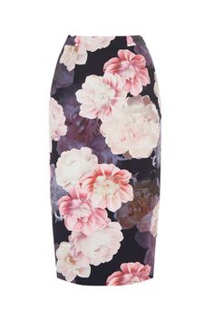 Oasis, SPRINGBLOOM PENCIL SKIRT Multi