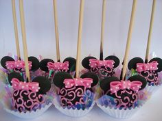 Minnie Candy Apples