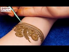 Simple Mehndi Design for Beginners | Floral Mehndi Design For Hands by Sonia Goyal #327 - YouTube