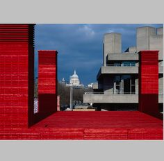 The Shed, a red theater by Haworth Tompkins in London - Arquitectura Viva · Architecture magazines