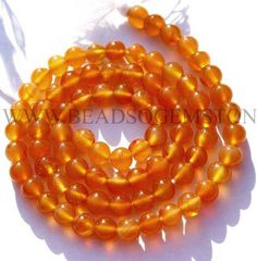 Semiprecious Beads, Carnelian Smooth Round (Quality AA) / to mm / 36 cm / by beadsogemstone on Etsy Bead Store, Carnelian, Semi Precious Gemstones, Round Beads, Gemstone Beads, Craft Supplies, Smooth, Unique Jewelry, Etsy