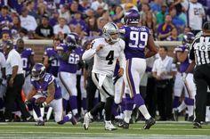 e827c48a1 Derek Carr Highlights  Oakland Raiders QB Vs Minnesota Vikings Fresno  State
