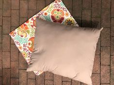 Couch Outdoor Chair Cushions Diy, Outdoor Cushion Covers, Cushions To Make, Slipcovers For Chairs, Outdoor Chairs, Diy Cushion, How To Make Handbags, Joann Fabrics, Outdoor Seating