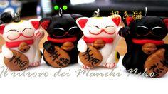 ciondoli handmade Maneki Neko <3 #manekineko #polymerclay