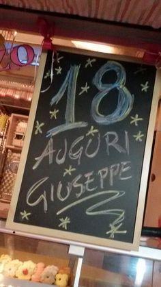 18 anni di Giuseppe. #compleanno ideato dalla pasticceria La Mimosa di Tollo