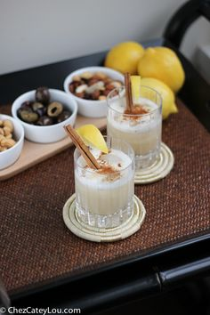 This Aero Whiskey Sour elevates a classic whiskey sour by adding egg white, which gives the cocktail a silky texture and a great foamy top, and finishing with a touch of cinnamon.