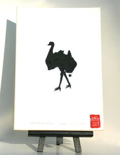 australian emu original drawing of an emu being by freshandsilly Things To Think About, Things To Come, Australia Day, Australian Animals, Emu, Tasmania, What Is Like, Outline, Projects To Try