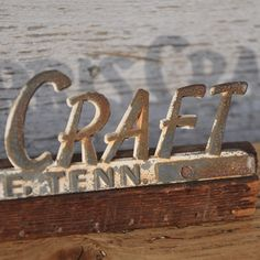 Norris Craft Sign - Graphics Section Online