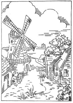 Coloring Page - Holland