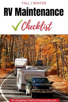 Here is your RV maintenance checklist for Fall – see the 6 most important things you should check each year before winter! This will keep your RV in good shape. Rv Camping Tips, Travel Trailer Camping, Rv Travel, Outdoor Camping, Camping Outdoors, Travel Hacks, Camping Products, Camping Essentials, Travel Trailers