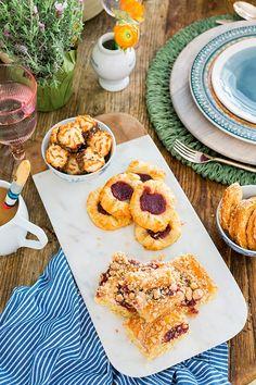 French-inspired dessert table via Waiting on Martha