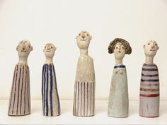 Jane Foster Blog: New Ceramic Little Man - Jane Muir