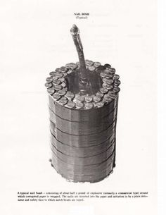 Grenades, Mines and Boobytraps reference Military Weapons, Weapons Guns, Guns And Ammo, Survival Weapons, Survival Skills, Homestead Survival, Survival Tips, Irish Republican Army, Improvised Explosive Device