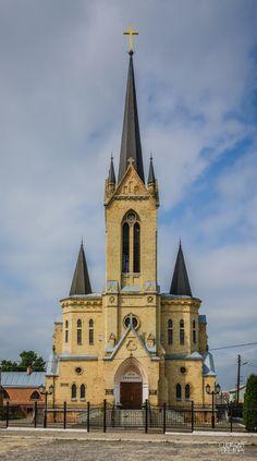 ˚Baptist Church - Lutsk, Ukraine Abandoned Mansions, Abandoned Houses, Abandoned Places, Abandoned Castles, Russian Architecture, Church Architecture, Architecture Design, Ukraine, Most Haunted Places