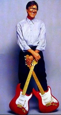 HANK MARVIN Gretsch, Fender Guitars, Gibson Les Paul Tribute, Blue Soul, Fender Squire, Hank Marvin, Fender Jaguar, Guitar Rack, Musica