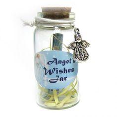 Angel Wishing Jar