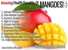 calories mango