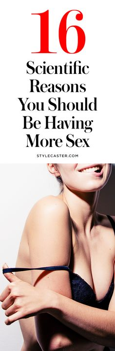 16 scientific reasons to have more sex | @stylecaster | StyleCaster
