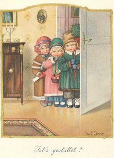 Ansichtkaarten en Illustraties Pauli Ebner |  Ansichtkaarten en illustraties Pauli Ebner (354 foto's)