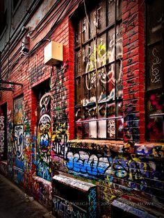 Graffiti Alley - Ann Arbor, Michigan