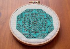 Mandala Cross Stitch Pattern, Digital Download PDF, Gift by bythelindentree on Etsy https://www.etsy.com/listing/171839317/mandala-cross-stitch-pattern-digital