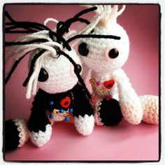 Amigurumi Albino Voodoo Dolls