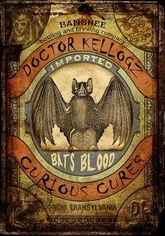 Potions. Bats.
